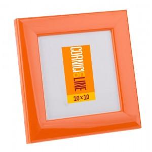109 Cornice quadrata colorata lucida e bombata