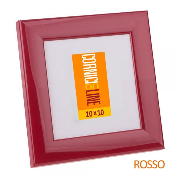 Cornici online cornice quadrata colorata lucida e bombata for Cornici online